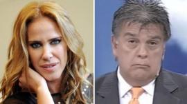 Qué le dijo Marcela Baños a Luis Ventura tras su salida de Intrusos