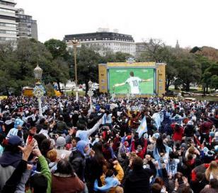 Habrá helados gratis antes del partido de Argentina