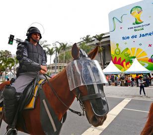 Río de Janeiro blindada para cuidar a hinchas y jefes de Estado