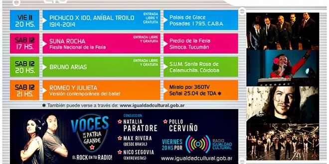 espect culos gratuitos de igualdad cultural On paginas de espectaculos de argentina