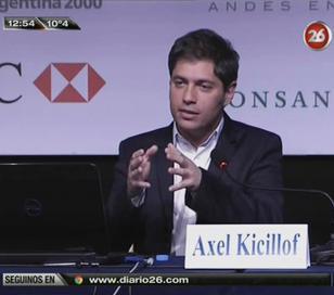 """Axel Kicillof: """"A nivel mundial hay un clima económico enrarecido"""""""