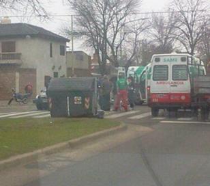 2 muertos en un Choque entre moto y auto