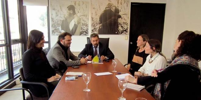 Fresneda se reunió con Amnistía Internacional