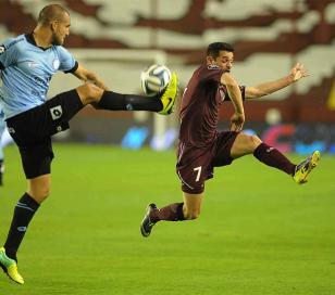 Lanús le ganó a Belgrano 1 a 0