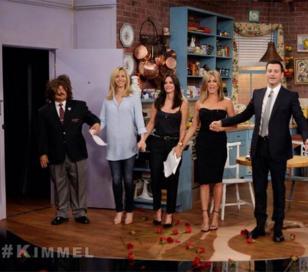 """Mónica, Rachel y Phoebe volvieron a hacer """"Friends"""""""
