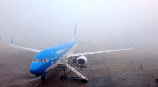 Por la Niebla hasta el domingo: Todos los vuelos reprogramados