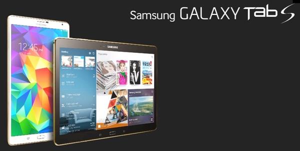 Nueva Galaxy Tab S