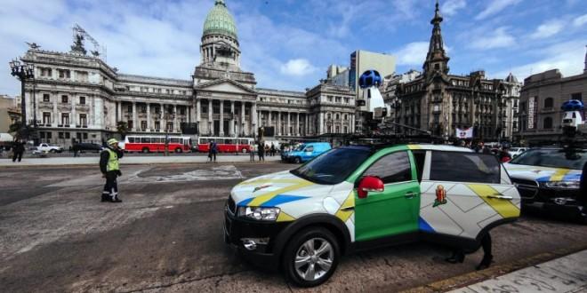 Google Street View disponible en argentina