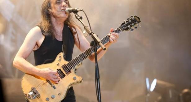 """Internaron por """"demencia"""" a Malcolm Young, guitarrista de ACDC"""