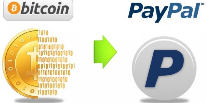 Se podrá usar bitcoin en PayPal