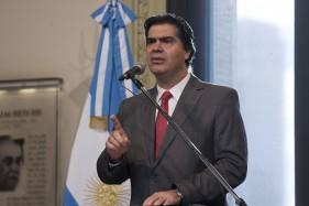 """Capitanich: """"Argentina pidió el reemplazo del BoNY"""""""