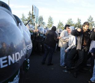 Lear: Gendarmería desalojó un corte en la Panamericana