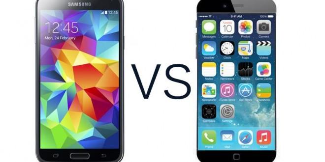 Comparamos el iPhone 6 Plus vs. Samsung Galaxy S5