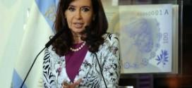 Cristina encabeza un acto en la Casa de Gobierno
