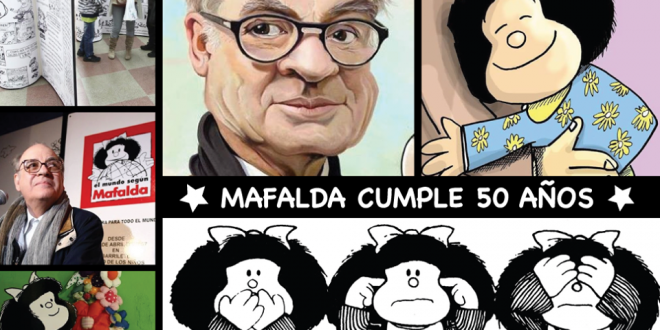 Mafalda cumple 50 años
