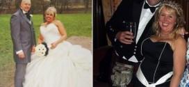 Estuvieron casados con la misma mujer al mismo tiempo y ahora son mejores amigos
