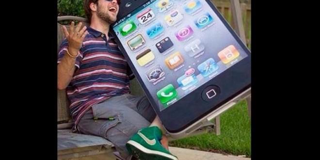 Las mejores bromas sobre el iphone 6