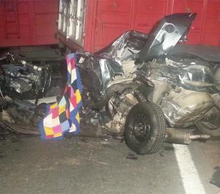 Accidente en la ruta 8: 3 muertos