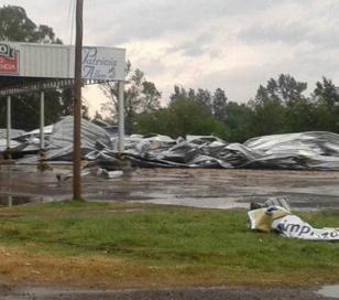 Temporal causó daños y cortes de energía en Bragado