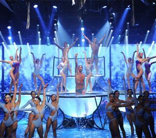 Meolans abrió el Aquadance del Bailando 2014