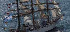 La Fragata Libertad arriba llegará Mar del Plata el próximo sábado a las 11