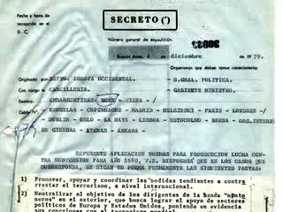 Acceso a documentos de Cancillería sobre la dictadura