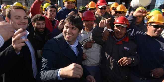 Diego Bossio participó del sorteo del primer desarrollo urbanístico Procrear de Buenos Aires