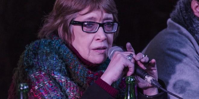 Teresa Parodi participó del Tercer Encuentro de Arte Urbano y Memoria en la ex ESMA