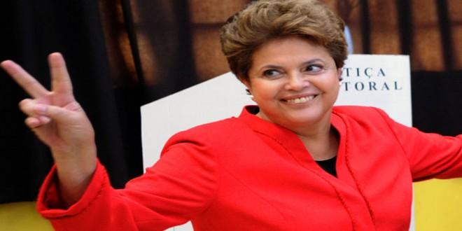 Dilma Rousseff se impone en las elecciones, habría balotaje
