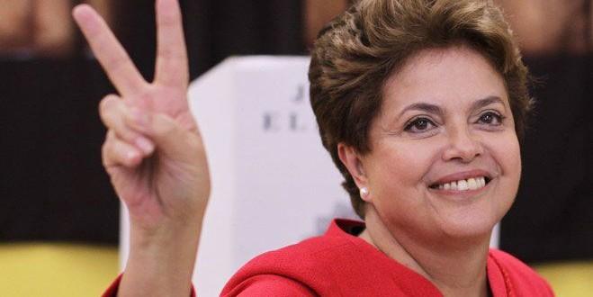 Dilma Rousseff votó y recordó que la campaña tuvo hechos 'lamentables'