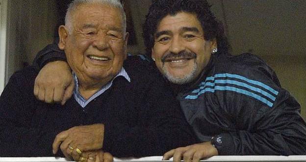 Mejora la salud de Don Diego y Maradona le compró una nueva casa