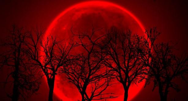 """Se producirá una nueva """"Luna Roja"""" el miércoles"""