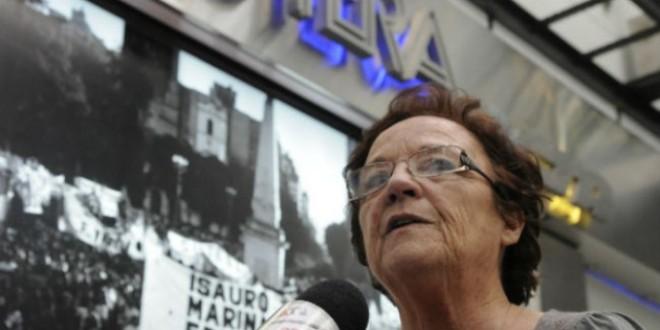Murió Stella Maldonado, titular de Ctera