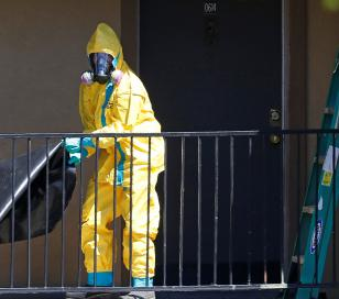 """Alarma en EEUU: 9 personas con """"alto riesgo"""" de desarrollar ébola"""