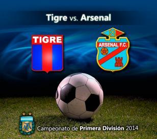 Arsenal busca el triunfo de visitante ante Tigre