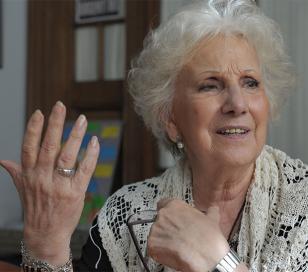 """Estela de Carlotto en Uruguay, """"Ciudadana Ilustre de América Latina"""""""