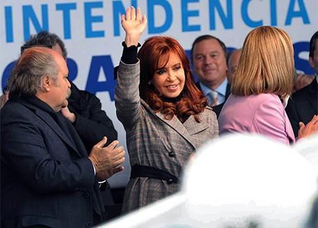 """Cristina Kirchner, citando a Máximo, dijo """"crecimos con la gente adentro"""""""