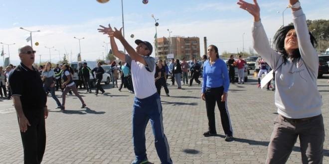 Encuentro Nacional de educación física en Goya