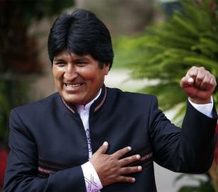 Evo Morales , favorito para la reelección