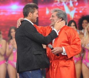 Oscar Miranda, el imitador de Sandro hizo llorar a Solita Silveyra y Tinelli en TV
