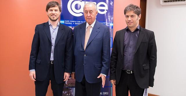 Kicillof se reunió con autoridades de CAME y el embajador de China