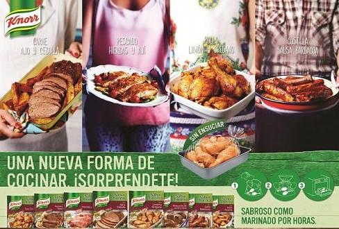 Nuevas bolsas para Horno de Knorr