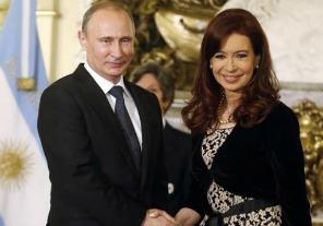 Cristina Kirchner dialoga con Putin por videoconferencia