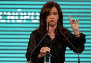 Cristina Kirchner encabeza un acto en Tecnópolis