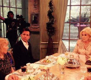 Mirtha Legrand le cumplió el sueño a la mamá de Martín Bossi