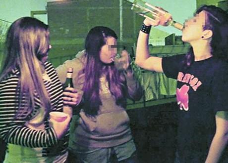 """7 de cada 10 adolescentes se emborrachan durante las """"previas"""""""