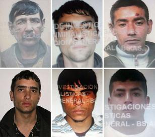 Recapturaron a uno de los presos fugados en Luján