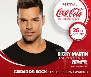 Coca-Cola presenta un beneficio exclusivo para sus seguidores en Twitter y sus oyentes en Coca-Cola.FM que permitirá a ver a Ricky Martin