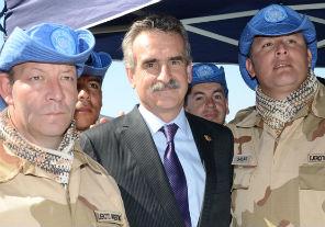 Rossi saludará a la Misión de Paz argentina en Chipre