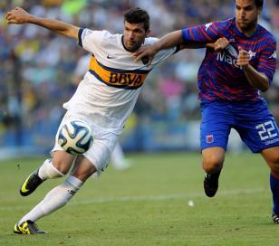 Boca le ganó a Tigre 2-0